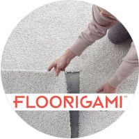 FLOORIGAMI™ Peel & Stick Carpet Tiles