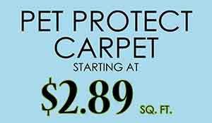 Pet Protect Carpet Starting at $2.89
