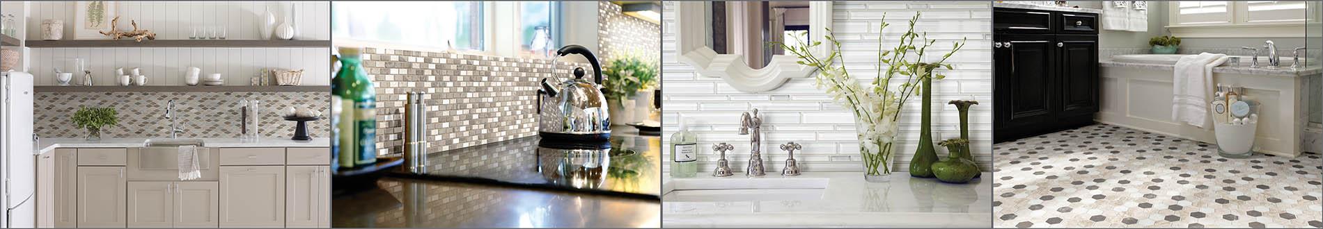 Seland's local top-notch tile craftsmen will install your dream shower or backsplash.