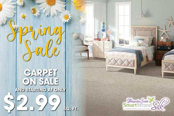 Alexander Smith SmartStrand starting at $2.99 sq.ft. during our spring sale at Seland's in Fergus Falls
