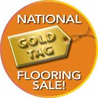 Gold Tag Flooring Sale