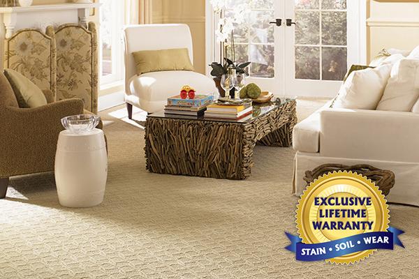 Exclusive Lifetime Warranty | Stain, Soil, Wear